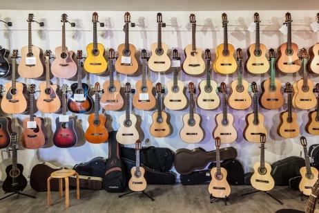 die richtige Größe der Gitarre